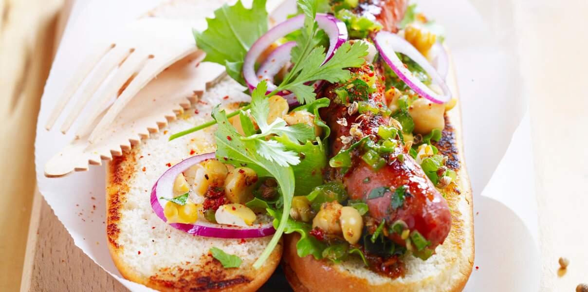 Hot-dog oriental
