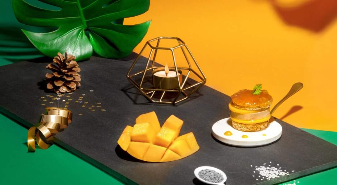 Délice de foie gras et chutney de mangue