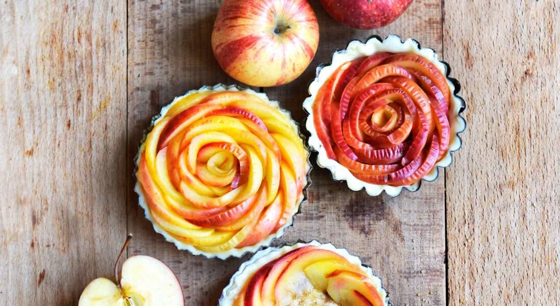 Tartelettes aux pommes et cassonade