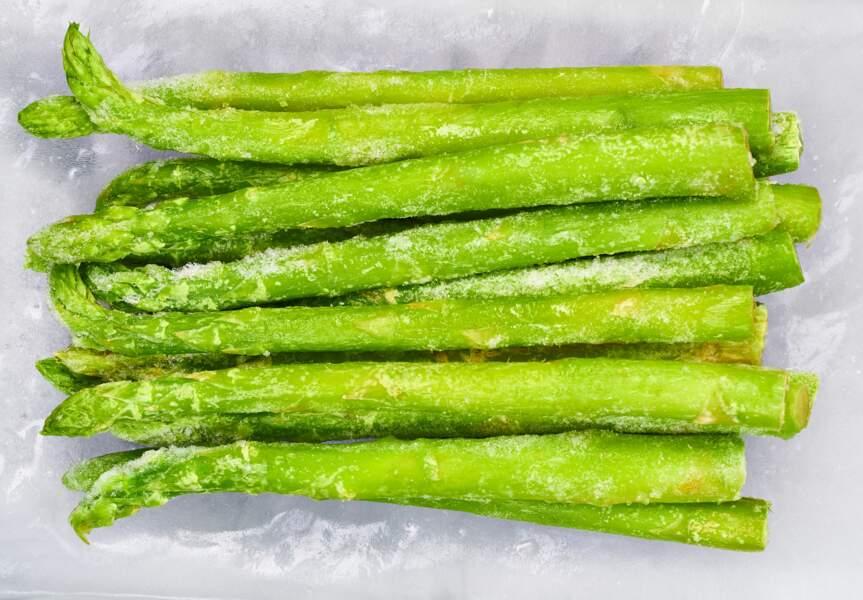 Comment congeler des asperges ?