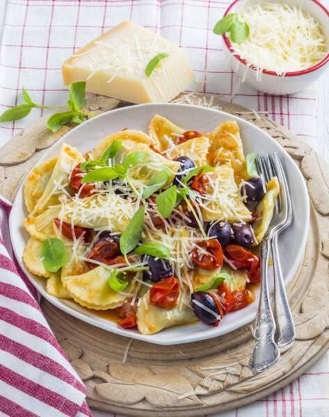 Agnolottis faciles aux aubergines