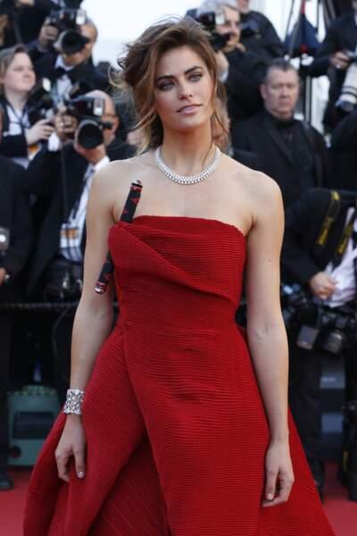 En 2013, Alyson Le Borges est apparue sur le tapis rouge du Festival de Cannes.