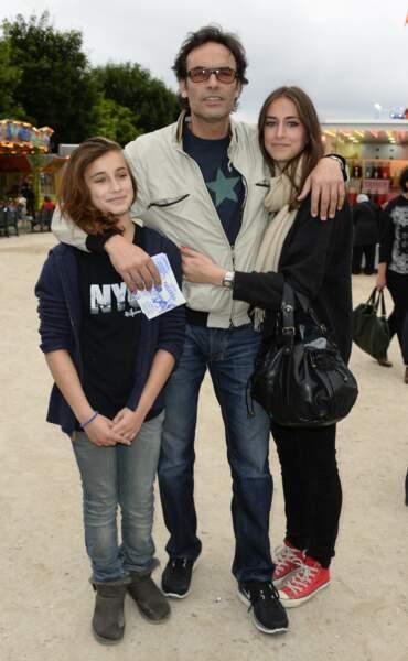 Loup, 23 ans et Liv, 18 ans, sont les filles qu'il a eues avec Sophie Clerico.