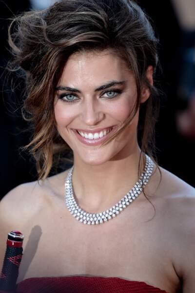 Alyson Le Borges, 33 ans, est actrice et mannequin.