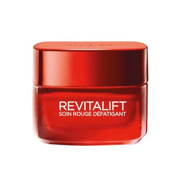 Le soin rouge défatigant de L'Oréal Paris