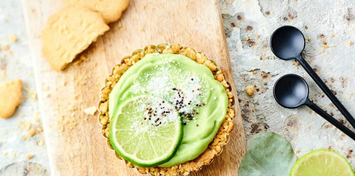 Tartelettes à l'avocat et au citron vert