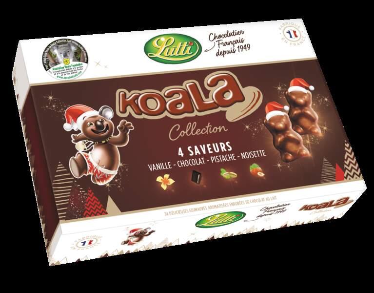 Coffret de koala en chocolat et guimauve Lutti