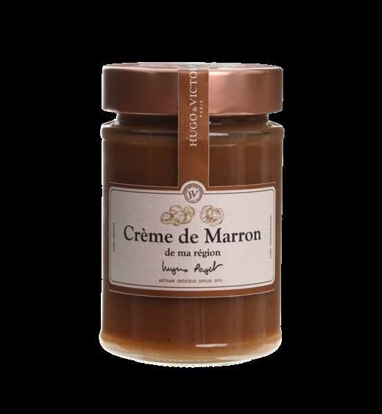 Crème de marron de ma région chez Victor & Hugo