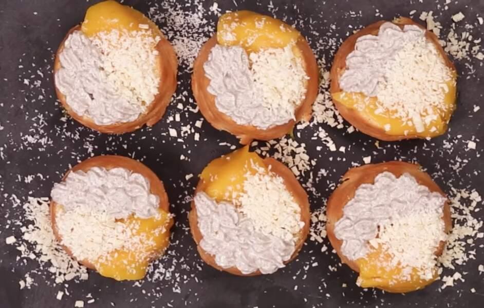 Dessert de fêtes WW : les bûchettes mangue-coco