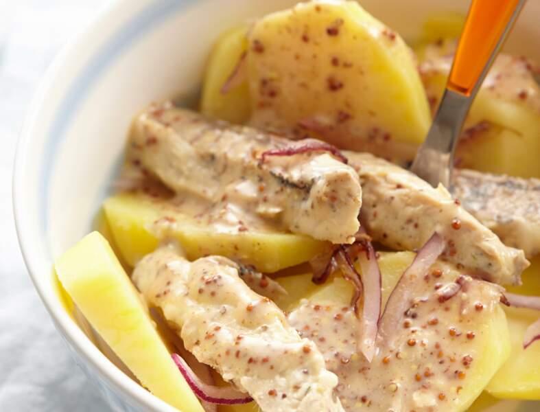 Salade de maquereaux à la moutarde