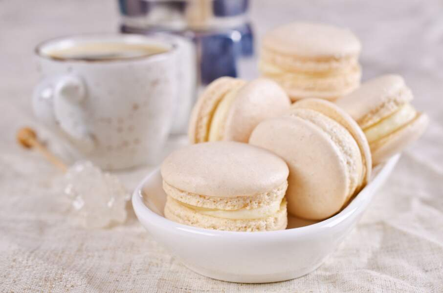 Ganache chocolat blanc macaron