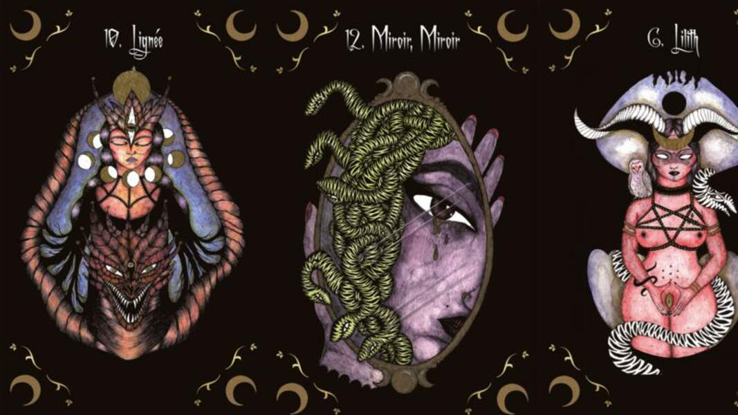 Oracle de la déesse sombre d'Iria Del et Gulliver l'aventurière