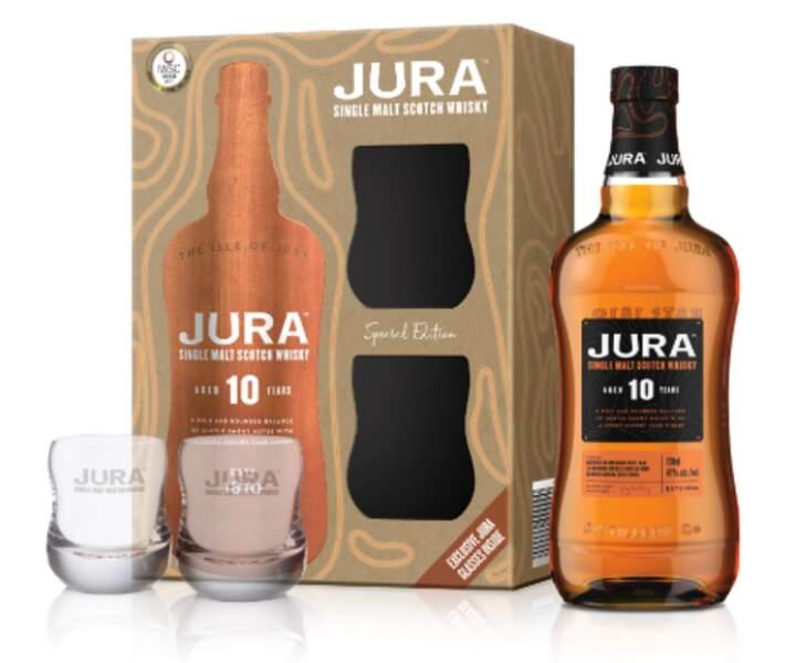 Coffret de single malt scotch whisky Jura