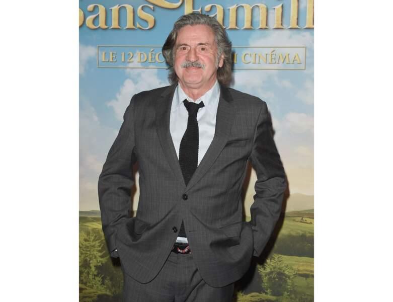 Fin 2018 : Daniel Auteuil assite à l'Avant-première du film Rémi sans famille