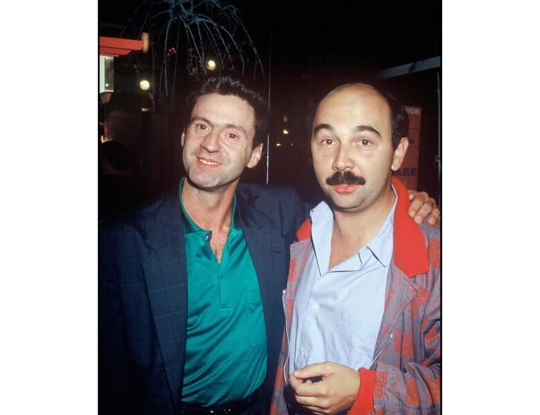 1986 : il assiste à l'Avant-première du film Jean de Florette avec Gérard Jugnot