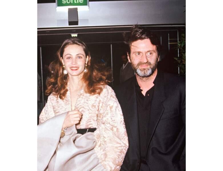 Le couple en 1992 à la cérémonie des Césars