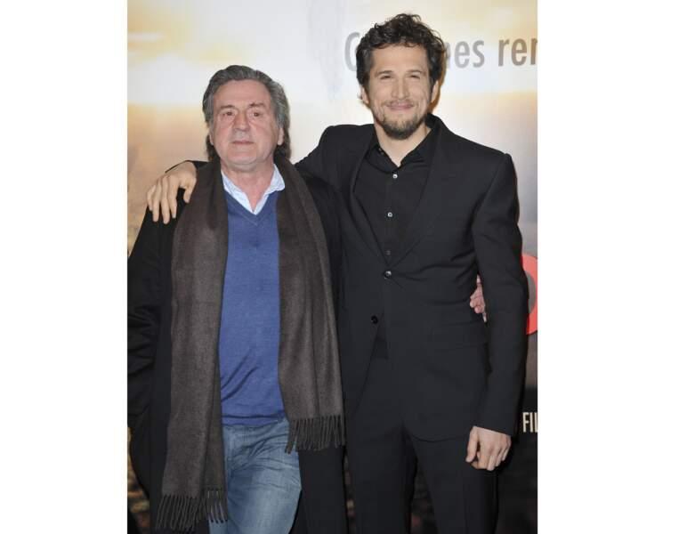 2013 : Daniel Auteuil a 63 ans et s'affiche avec Guillaume Canet