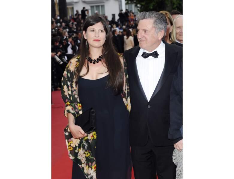 Daniel Auteuil et sa femme Aude Ambroggi en 2013 à Cannes