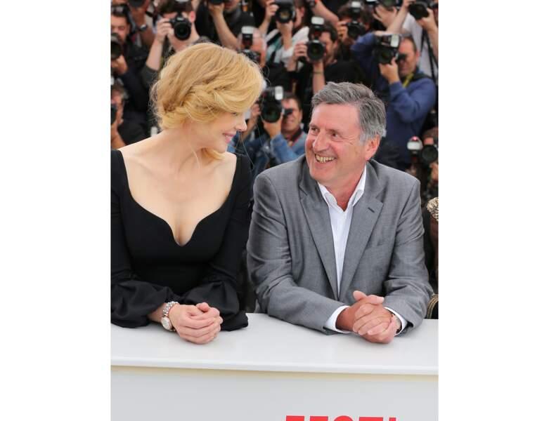 Mai 2013 : il est avec Nicole Kidman à Cannes