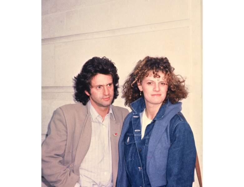 En 1981, il a 31 ans et se balade avec sa compagne de l'époque, Anne Jousset
