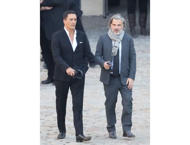 Toujours en 2018, il assiste à l'hommage national en l'honneur de Charles Aznavour