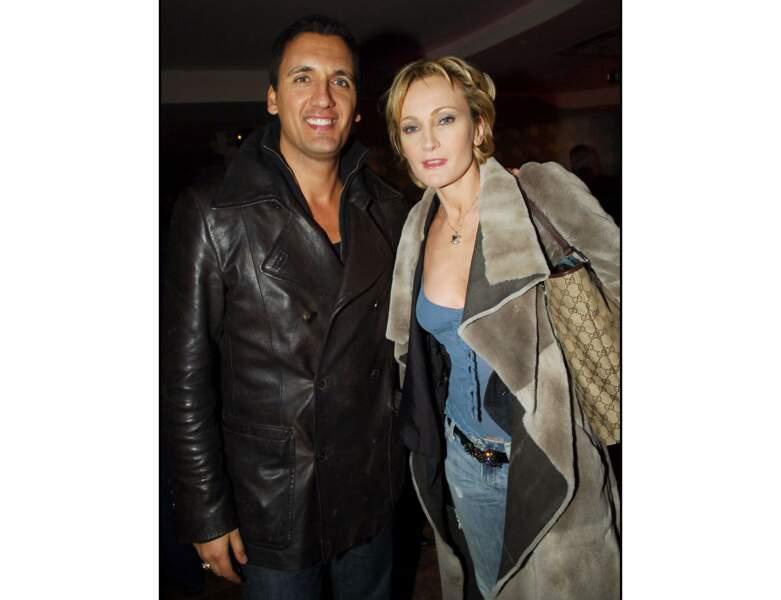 Dany Brillant et Patricia Kaas lors d'une soirée