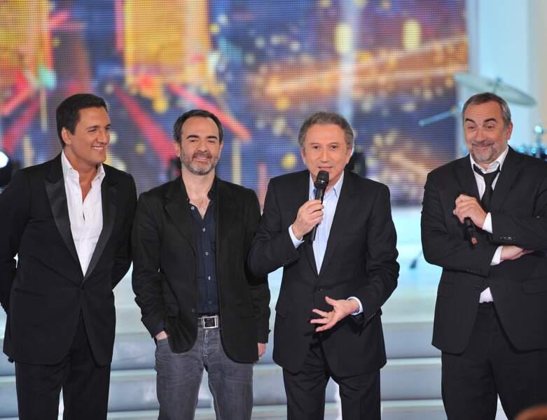 En 2012, il est sur scène aux côtés de Bruno Solo, Michel Drucker et Antoine Dulery