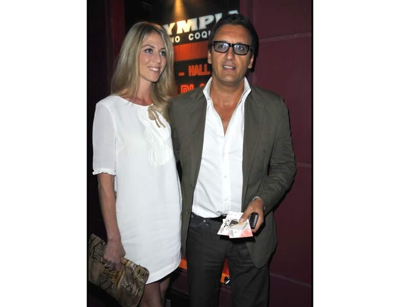 Toujours en 2011, Dany Brillant a 46 ans et apparait au côté de sa femme