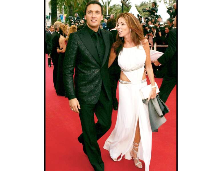 En 2004 à Cannes,  il a 39 ans
