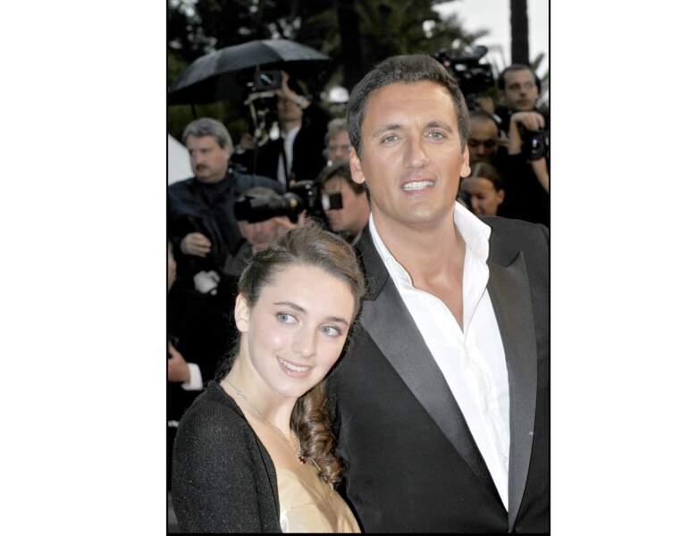 Dany Brillant à Cannes avec sa fille Léah