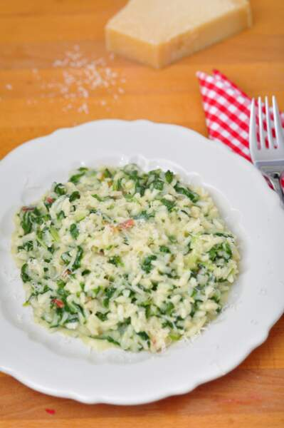 Risotto blettes