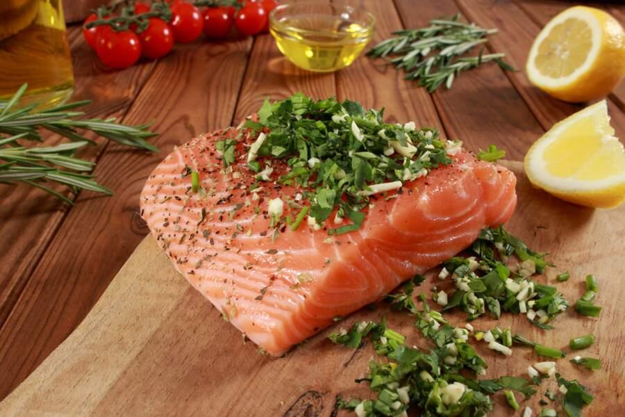 Gravlax saumon lime coriandre
