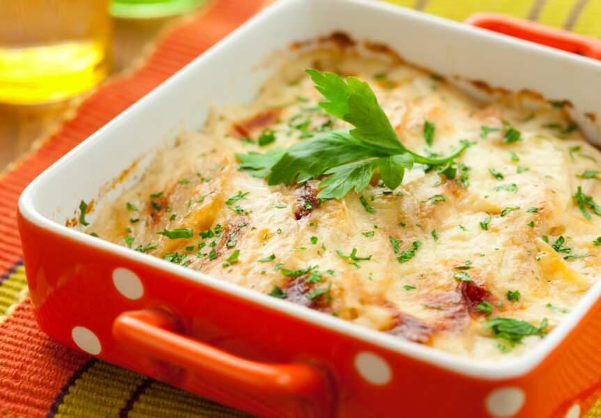 Gratin dauphinois pommes de terre et navet