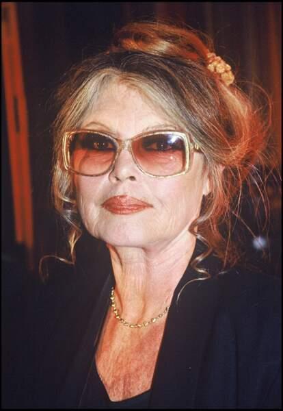 Brigitte Bardot en 1994, elle a 60 ans