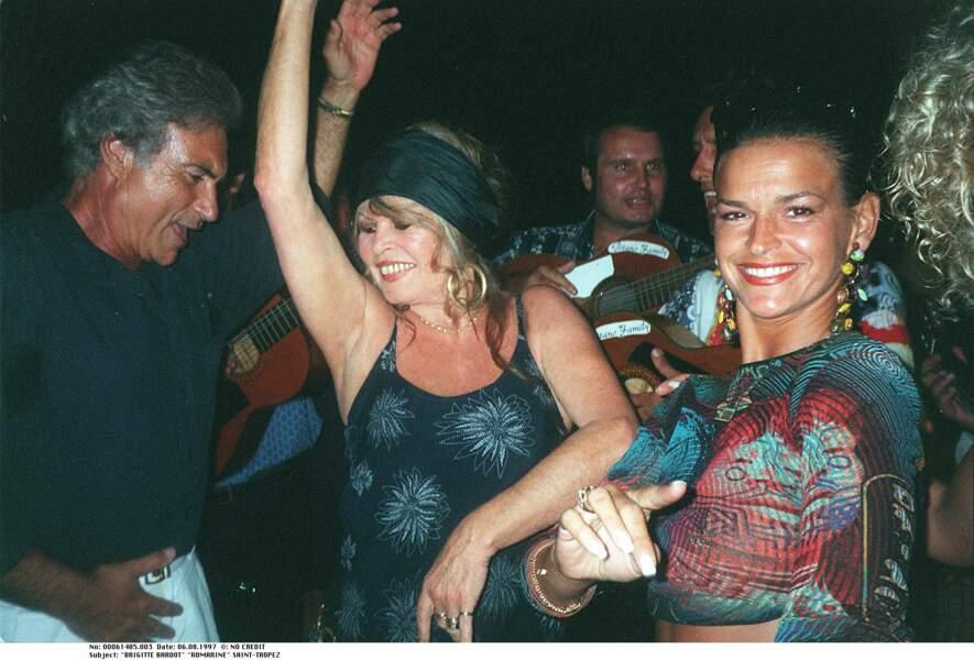 Brigitte Bardot à Saint-Tropez en 1997