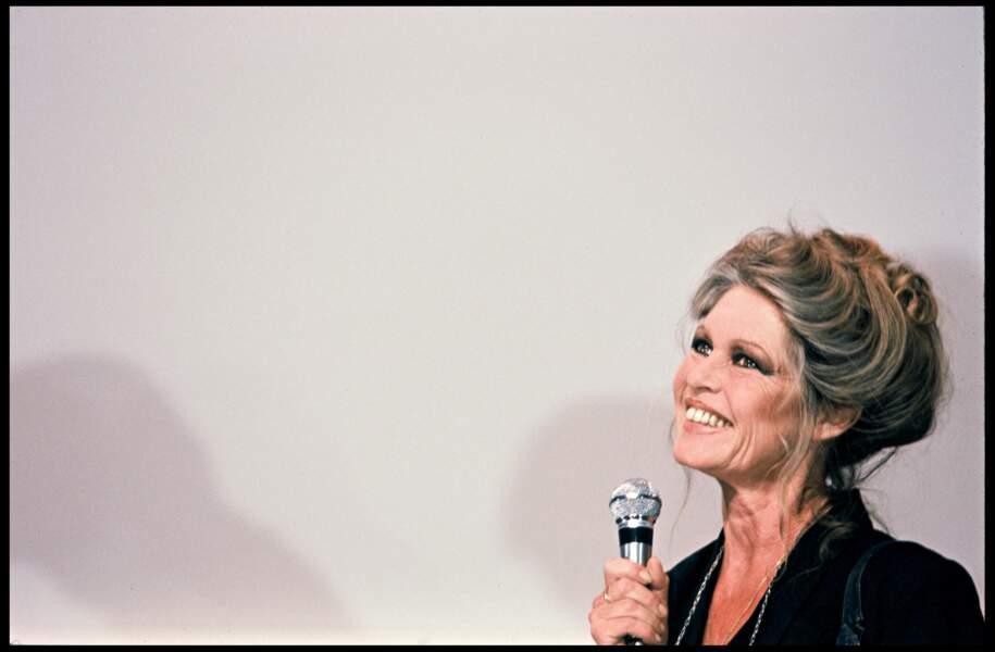 Brigitte Bardot en 1987