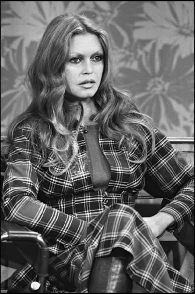 Brigitte Bardot en 1973