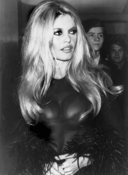 Brigitte Bardot en 1968