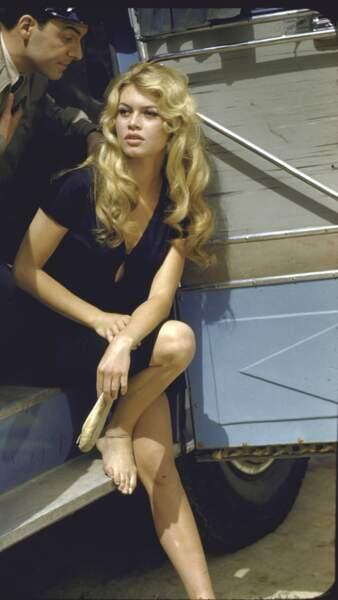 Brigitte Bardot en 1957