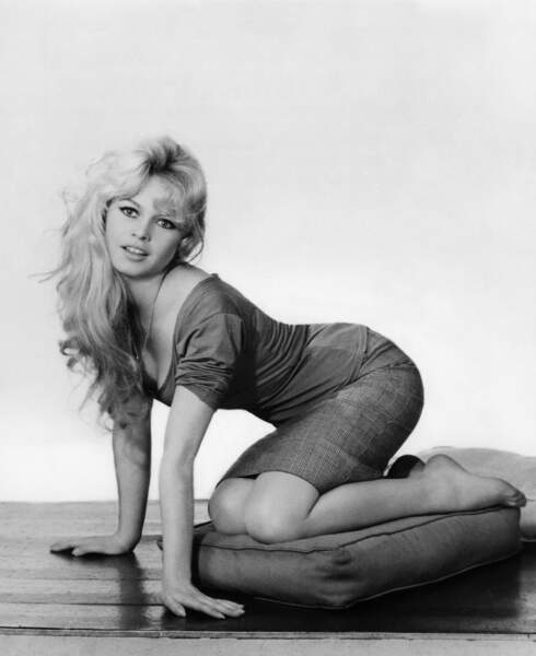 Brigitte Bardot en 1954, elle a 20 ans