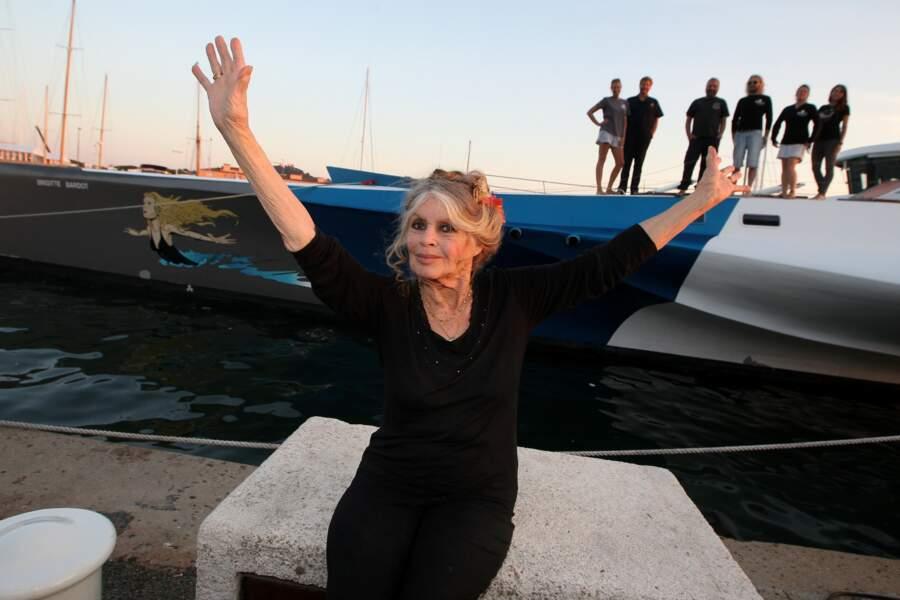 Brigitte Bardot en 2014, elle a 80 ans