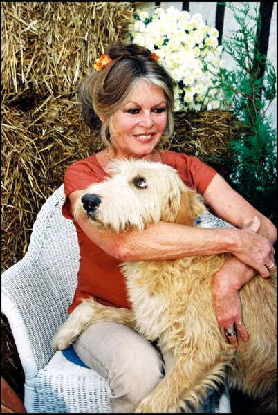 Brigitte Bardot en 1997