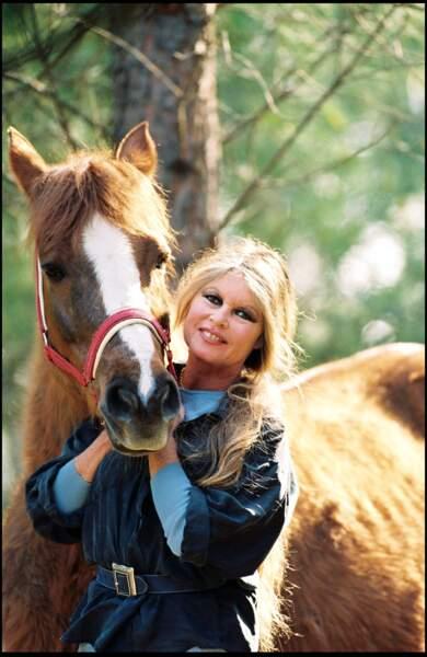 Brigitte Bardot en 1993