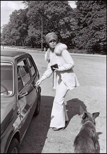 Brigitte Bardot à Paris en 1975