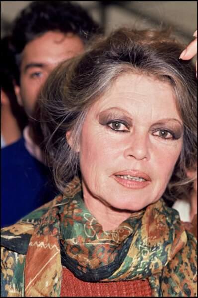 Brigitte Bardot en 1989