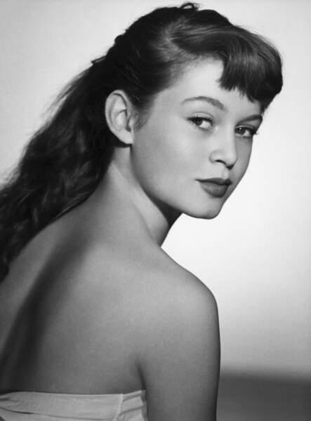 Brigitte Bardot en 1950, elle a 16 ans