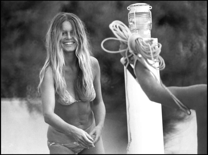 Brigitte Bardot à la Madrague en 1971