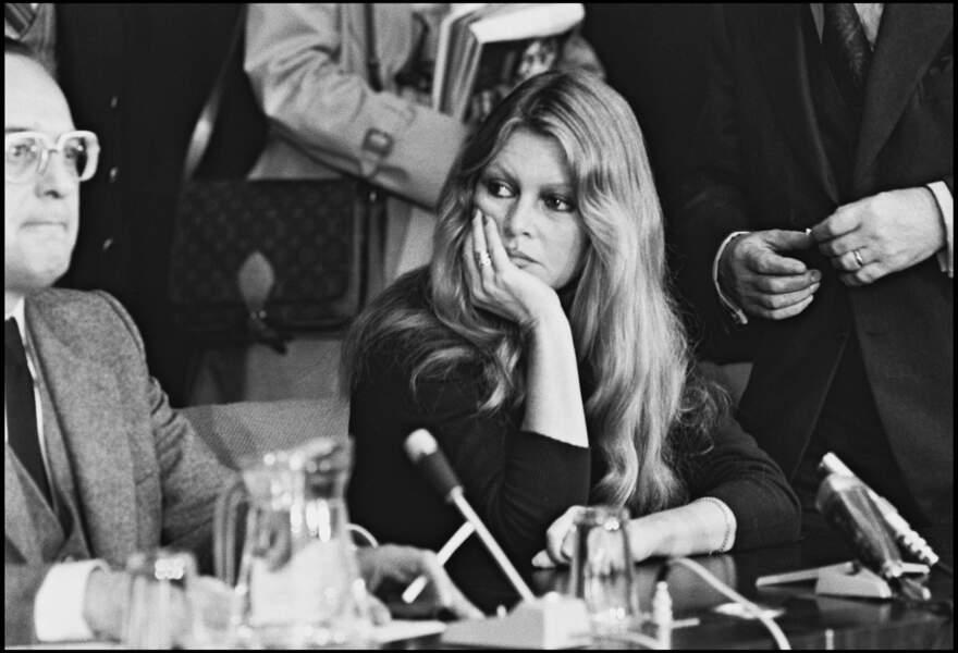 Brigitte Bardot en 1978