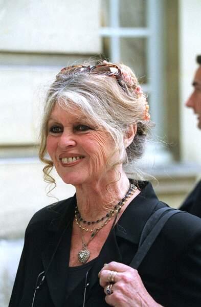 Brigitte Bardot en 2001