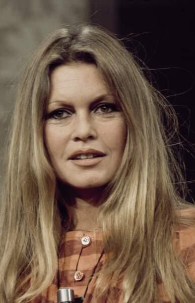 Brigitte Bardot en 1974, elle a 40 ans